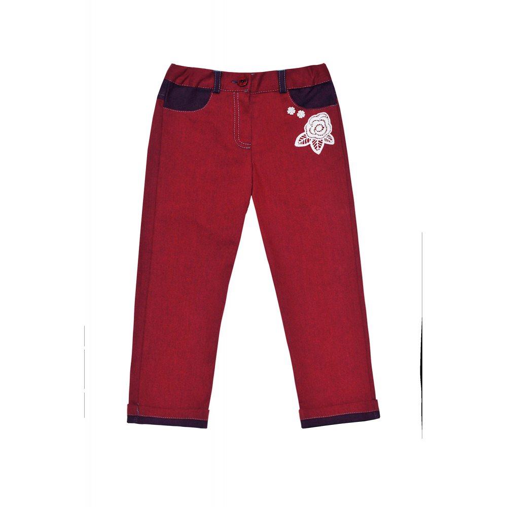 Бордовые брюки доставка