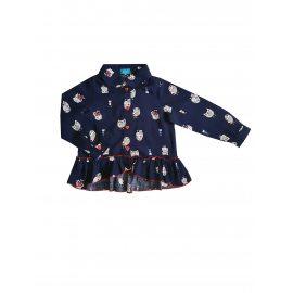 Блузка с совами